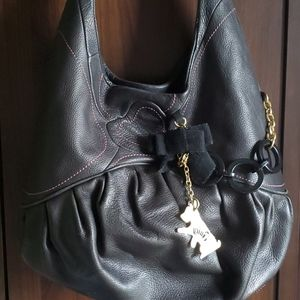 JUICY COUTURE- LEATHER PURSE